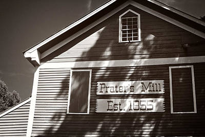 Photograph - Prater's Mill by George Taylor