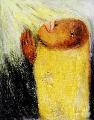 Thai Artist Artists Painting - Pray -2012 by Nalidsa Sukprasert