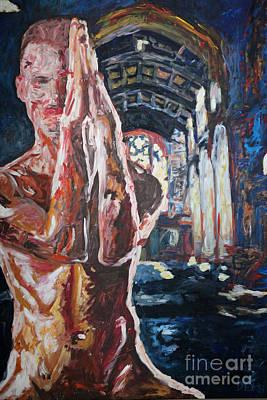 Pray - 2667 Original by Lars  Deike
