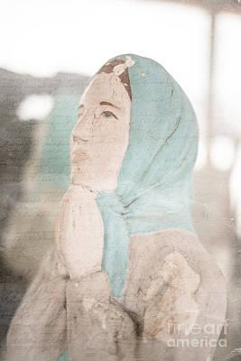 Chip Photograph - Pray by Edward Fielding