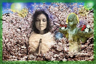 Pray For Peace Art Print