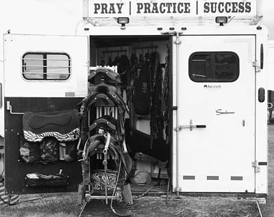 Photograph - Pray Practice Success by Angi Parks