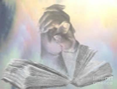 Drawing - Prayer by Belinda Threeths