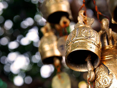 Prayer Bells Art Print by Kaleidoscopik Photography