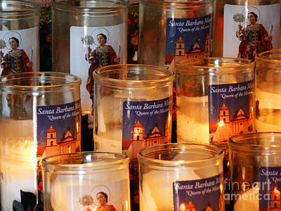 Photograph - Prayer Candles by Methune Hively