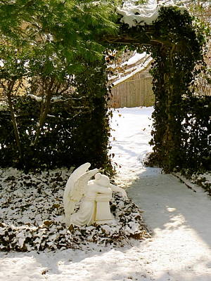 Photograph - Prayer Garden  by Nancy Patterson