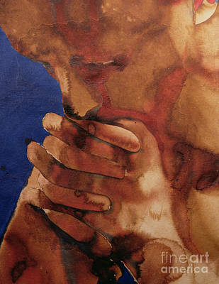 Contemplating Painting - Prayer by Graham Dean