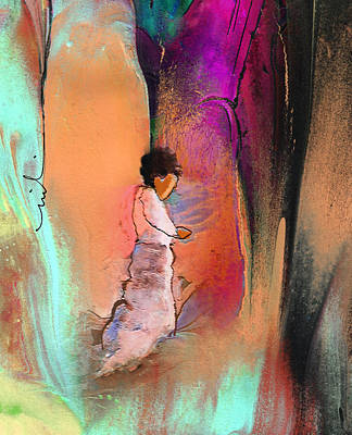 Painting - Prayer Of A Child 02 by Miki De Goodaboom