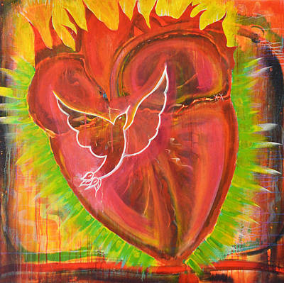 Painting - Prayer Of The Heart by Mary Ann Matthys