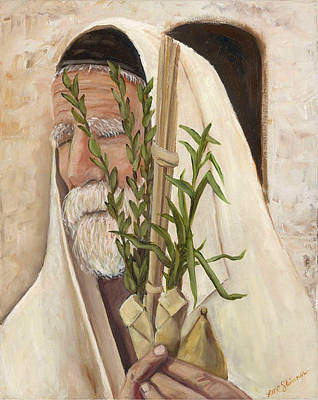 The Feast Of Tabernacles Original by Lisa Marie Dole Skinner