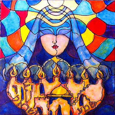 Painting - Prayer by Rae Chichilnitsky