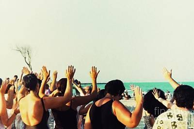 Photograph - Prayer Service At The Beach by Sarah Loft