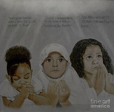 Painting - Prayer Time by Chelle Brantley