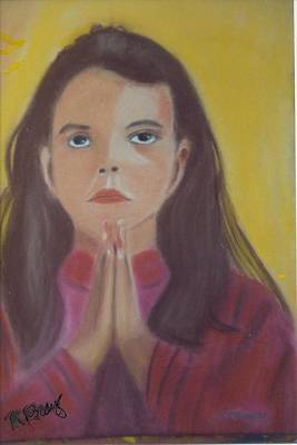 Prayer Time Art Print by Robert Bray