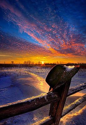 Cowboy Hat Photograph - Prayers And Promises by Phil Koch