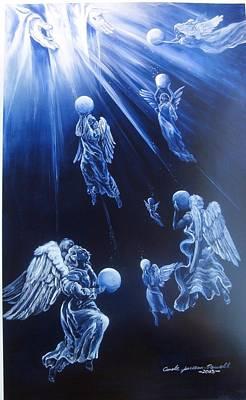 Prayers Ascent Art Print by Carole Powell
