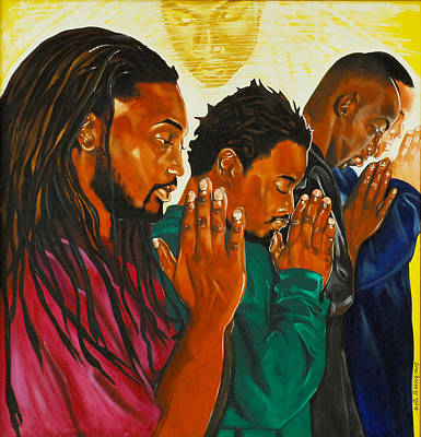 Painting - Prayers That Availeth Much by Belle Massey
