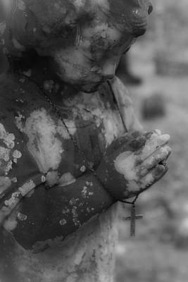 Photograph - Praying Angel by Jennifer Burley