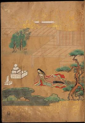 Praying At A Buddhist Altar Art Print