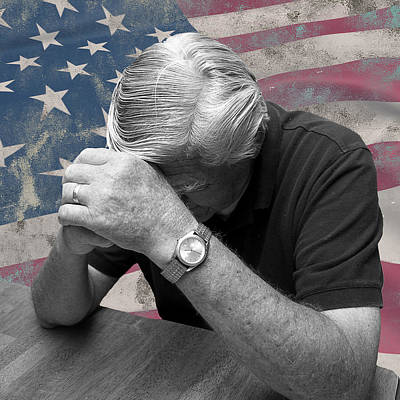 Photograph - Praying For America by Trudy Wilkerson