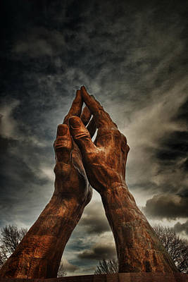Praying Hands At Oru  Art Print