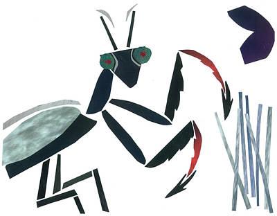 Praying Mantis Art Print by Earl ContehMorgan