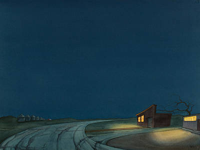 High Plains Painting - Pre-dawn On The Hi-line I by Scott Kirby