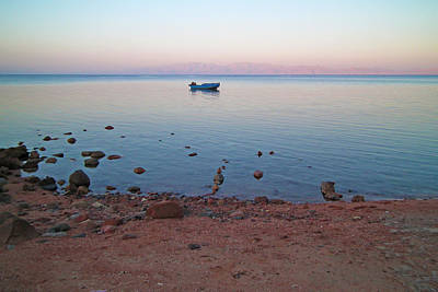 Photograph - Pre-dawn On The Sinai by David Davies