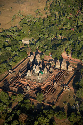 Temple Religion Photograph - Pre Rup Temple Ruins (dating From 961 by David Wall