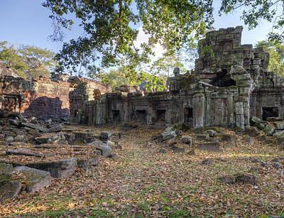 Preah Khan Temple Art Print