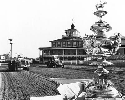 Horse Racing Photograph - Preakness Stakes 1965  by Retro Images Archive