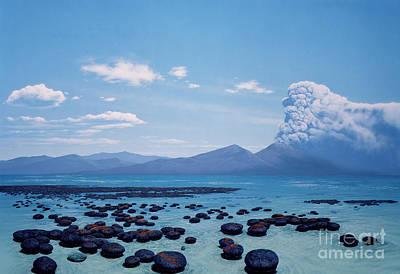 Photograph - Precambrian Stromatolites by Chase Studio