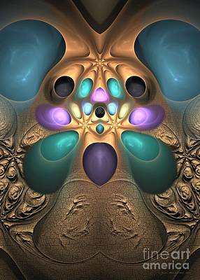 Digital Art - Precious Awakening - Surrealism by Sipo Liimatainen