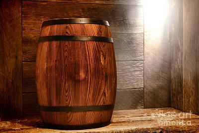 Whiskey Barrel Photograph - Precious Cargo by Olivier Le Queinec