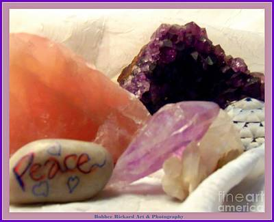 Photograph - Precious Gems Of Peace by Bobbee Rickard