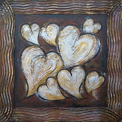 Precious Hearts 301110 Art Print by Selena Boron