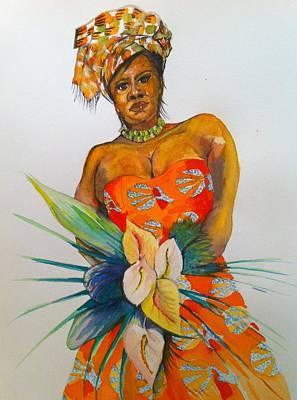 Painting - Precious Petal by Michelle Deyna-Hayward