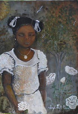 African-american Mixed Media - Precious by Sonja Griffin Evans