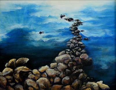 Painting - Precipice by Tamara Michael