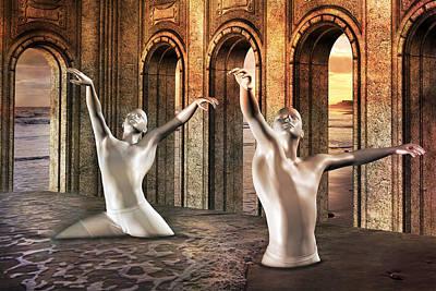 Fantasy Digital Art - Precisely Aware by Betsy Knapp