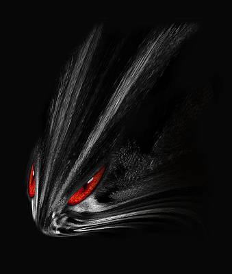 Photograph - Predator Abstract by Radoslav Nedelchev