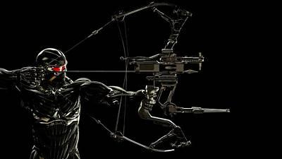 Archer Digital Art - Predator Archer by Movie Poster Prints