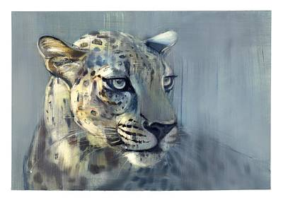 Panthera Painting - Predator II by Mark Adlington