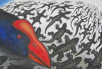 Predator Art Print by Jan Morrison