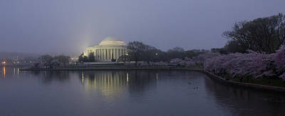 Photograph - Predawn At The Jefferson Memorial In Washington Dc by Leah Palmer