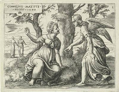 Prediction Of Samsons Birth, Print Maker Cornelis Massijs Art Print
