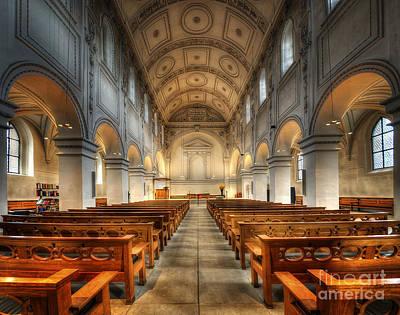 Photograph - Predigerkirche Zurich by Yhun Suarez