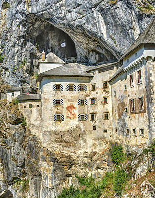 Photograph - Predjama Castle by Alan Toepfer