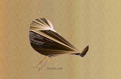 Preening Bird Art Print