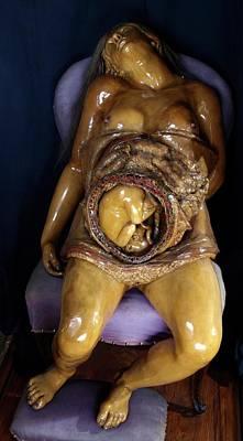 Abdomen Photograph - Pregnancy Model by Javier Trueba/msf